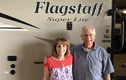 These happy customers are excited about their Flagstaff Super Lite