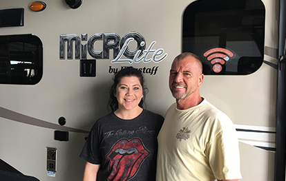 These happy customers bought a Flagstaff Micro Lite