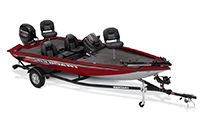 Tracker and Nitro Bass Boats