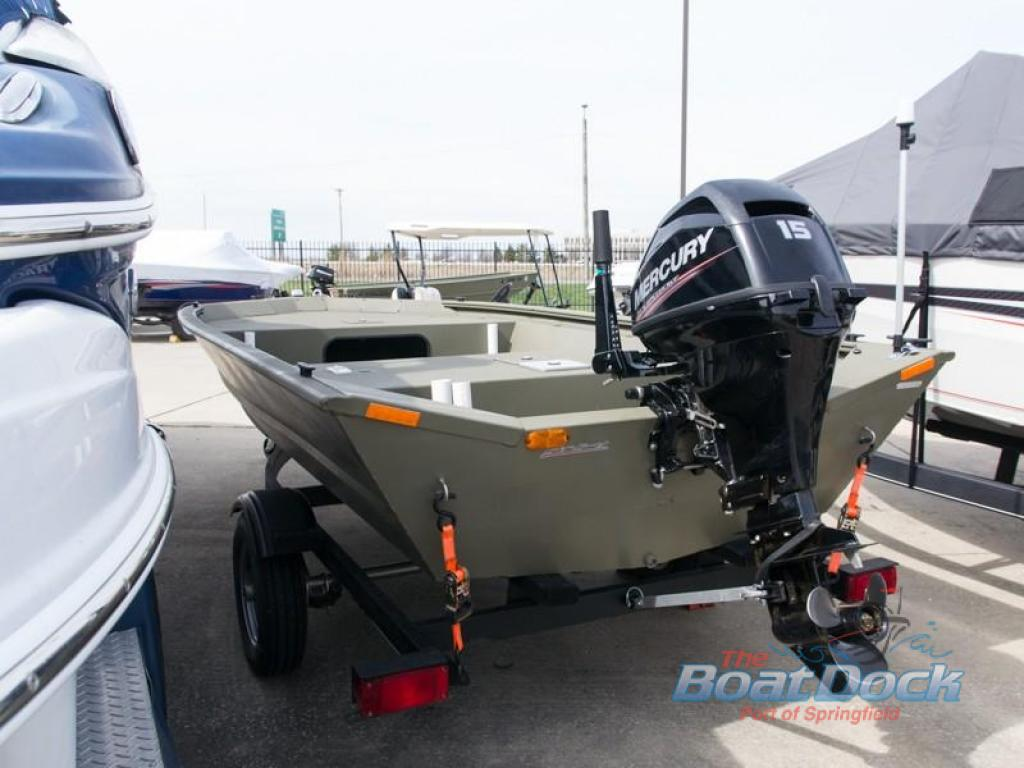 Used 2017 Tracker Grizzly 1448 Jon Boat at Colman's RV | Springfield