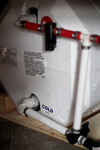 Hot Water Tank and Bypass