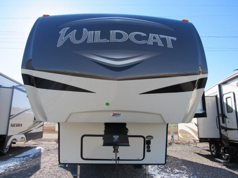 New  2018 34' Forest River RV Wildcat 28SGX Fifth Wheel in Hattiesburg, Mississippi