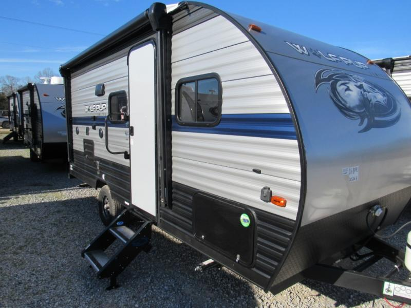 New  2019 21' Forest River RV Cherokee Wolf Pup 16BHS Travel Trailer in Hattiesburg, Mississippi