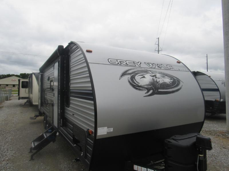 New  2019 29' Forest River RV Cherokee Grey Wolf 26DBH Travel Trailer in Hattiesburg, Mississippi