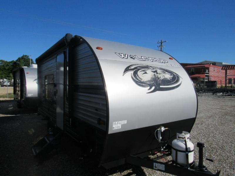 New  2020 21' Forest River RV Cherokee Wolf Pup 16FQ Travel Trailer in Hattiesburg, Mississippi