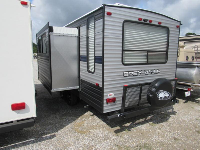 New  2019 28' Forest River RV Cherokee Grey Wolf 23MK Travel Trailer in Hattiesburg, Mississippi