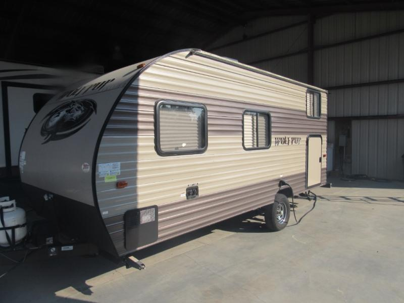Used  2017 21' Forest River RV Cherokee Wolf Pup 16BHS Travel Trailer in Hattiesburg, Mississippi