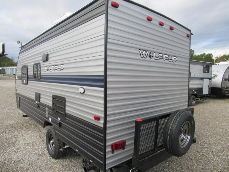 New  2019 21' Forest River RV Cherokee Wolf Pup 16FQ Travel Trailer in Hattiesburg, Mississippi