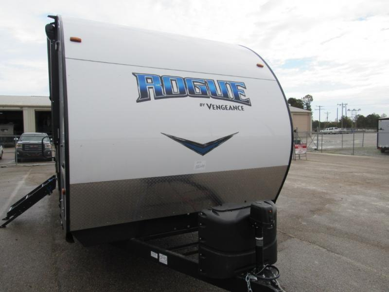 New  2019 Forest River RV Vengeance Rogue 25V Travel Trailer Toyhauler in Hattiesburg, Mississippi