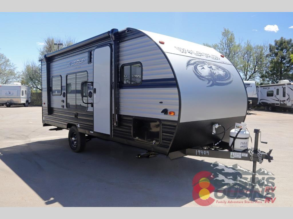 New 2020 Forest River Rv Cherokee Wolf Pup 18rjb Toy