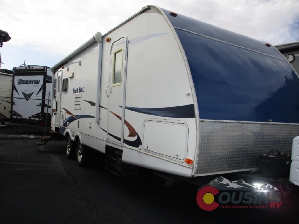 Used 2011 Heartland North Trail 26lrss King Travel Trailer