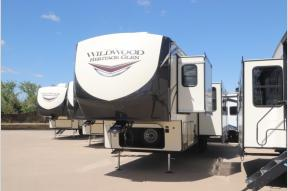 New 2021 Forest River RV Wildwood Heritage Glen 356QB Photo