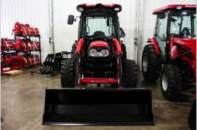 New 2021 MAHINDRA COMPACT UTILITY 3650 CAB W/ LOADER Photo