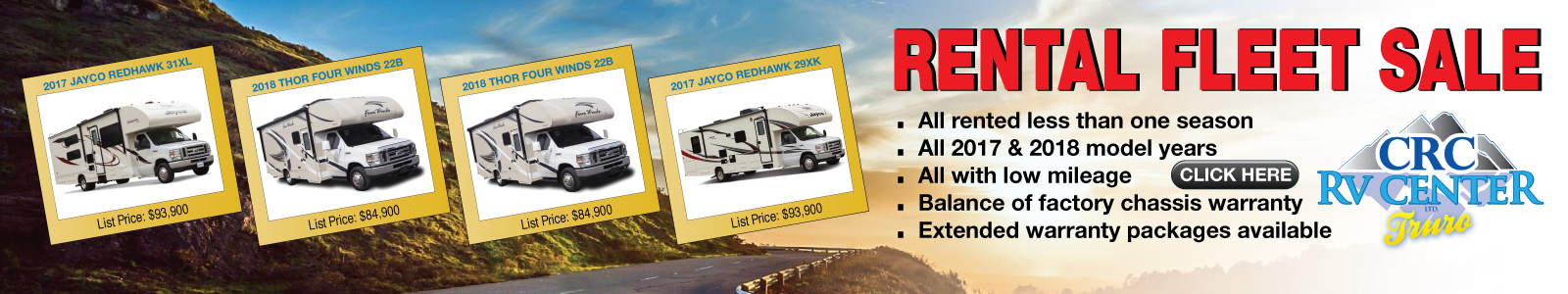 Rental RV Clearout