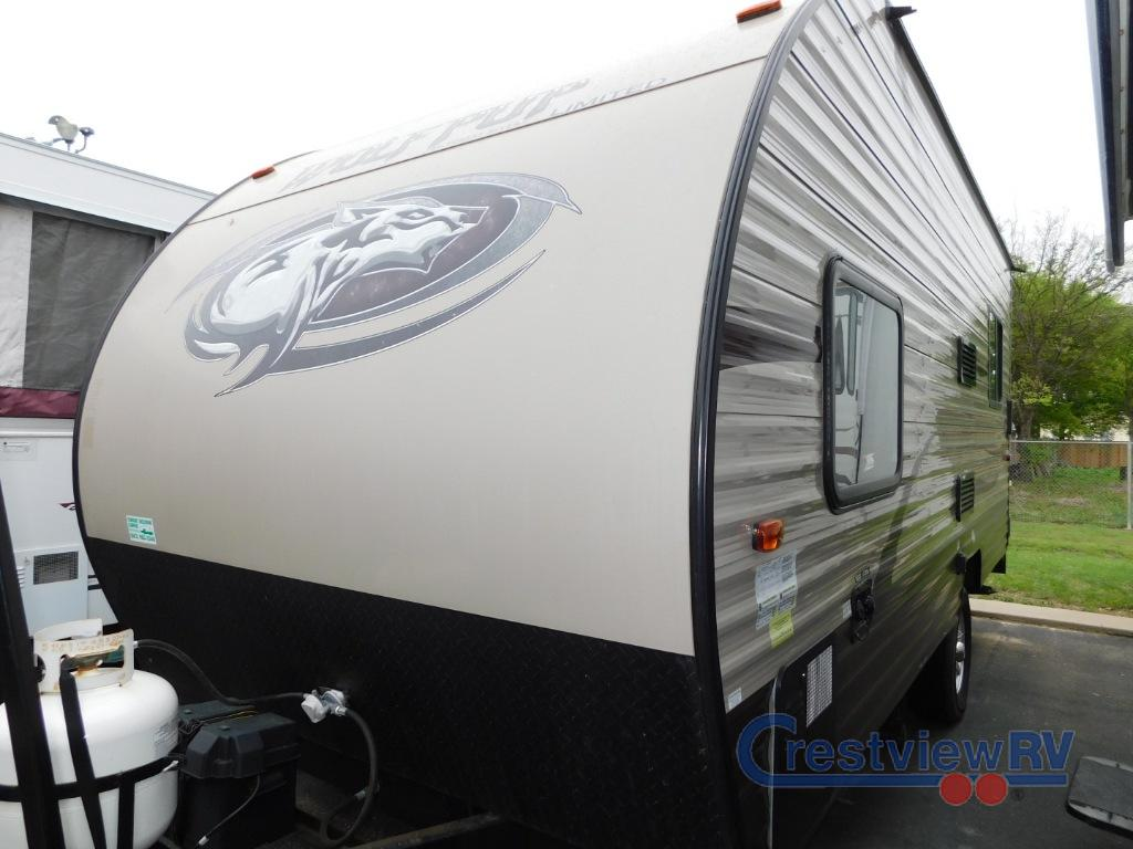 Used 2016 Forest River Rv Cherokee Wolf Pup 17rp Toy