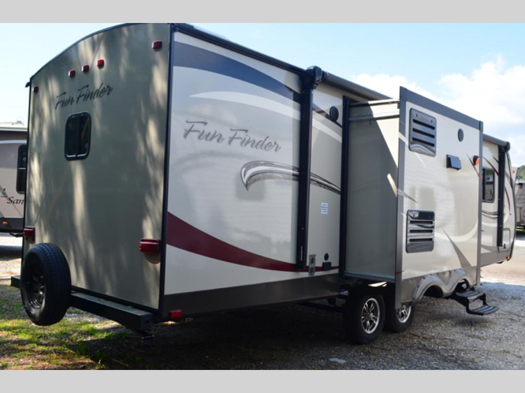 New 2014 Cruiser Fun Finder F 266 Kirb Travel Trailer At