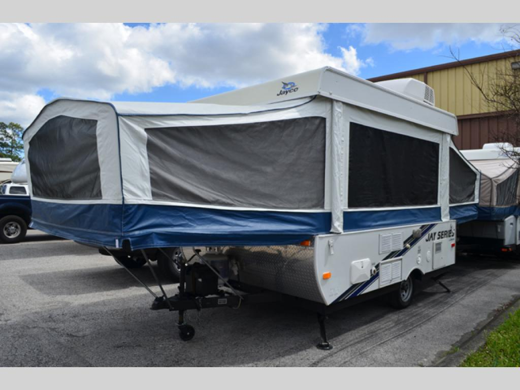 Used 2010 Jayco Jay Series 1007 Folding Pop Up Camper At