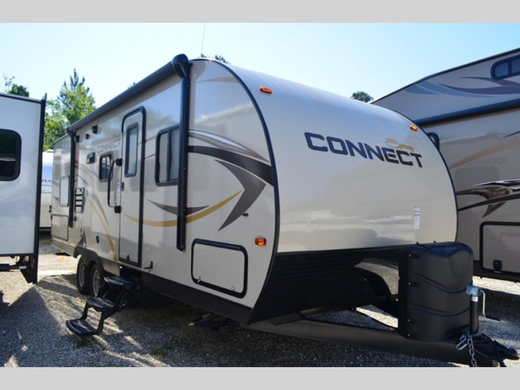 New 2014 Kz Spree Connect C250bhs Travel Trailer At Dick