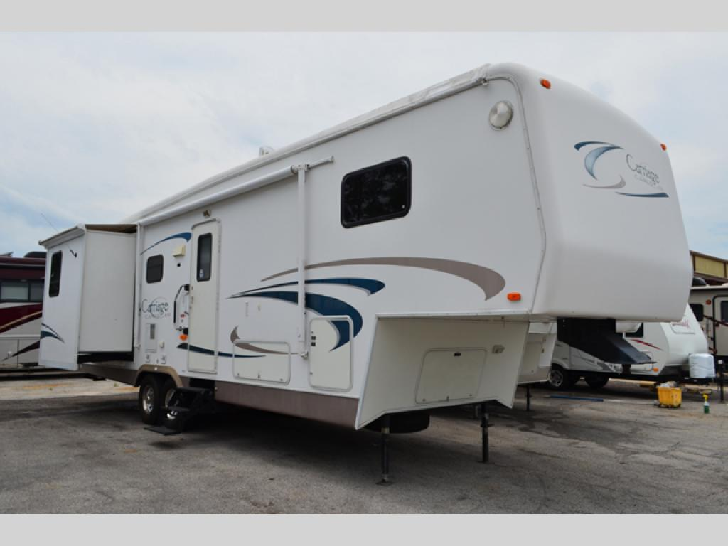 Used 2002 Carriage Cameo Lxi 34ck3 Fifth Wheel At Dick