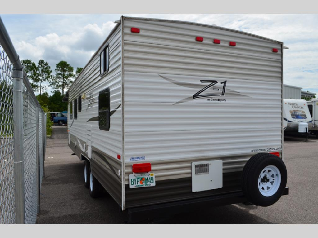 Used 2013 Crossroads Rv Z 1 251bh Travel Trailer At Dick Gore S Rv World Jacksonville Fl