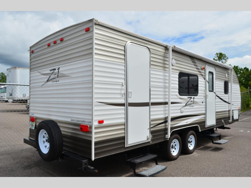 Used 2013 Crossroads Rv Z 1 251bh Travel Trailer At Dick