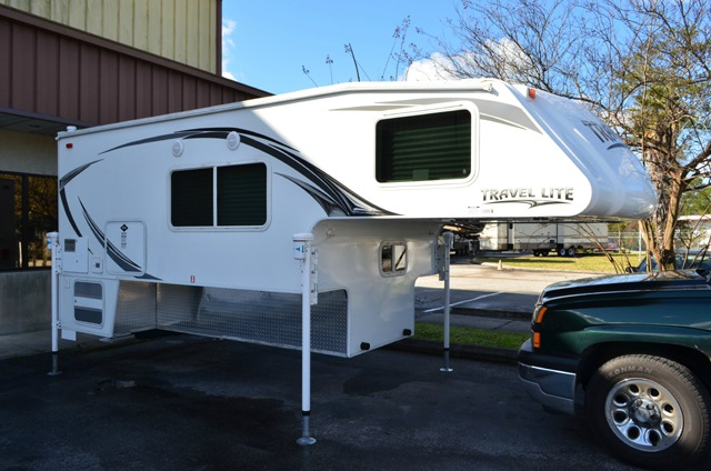 Used 2014 Travel Lite Truck Campers 1100rx Ultra Series Truck Camper At Dick Gore S Rv World