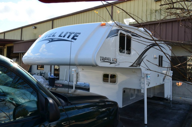 Used 2014 Travel Lite Truck Campers 1100rx Ultra Series