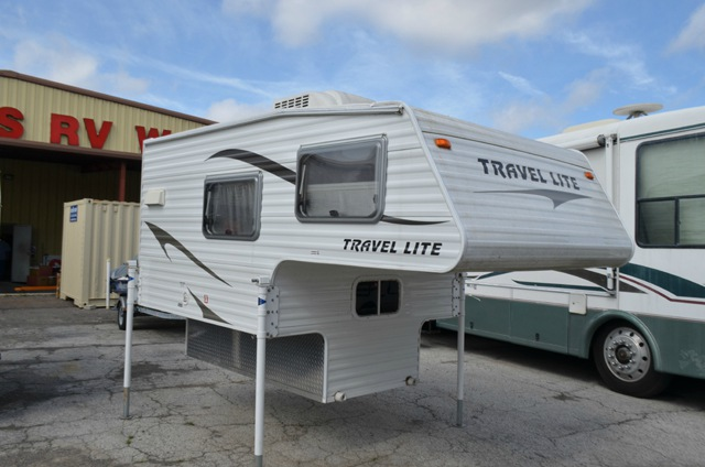 Used 2012 Travel Lite Truck Campers 690fd Truck Camper At