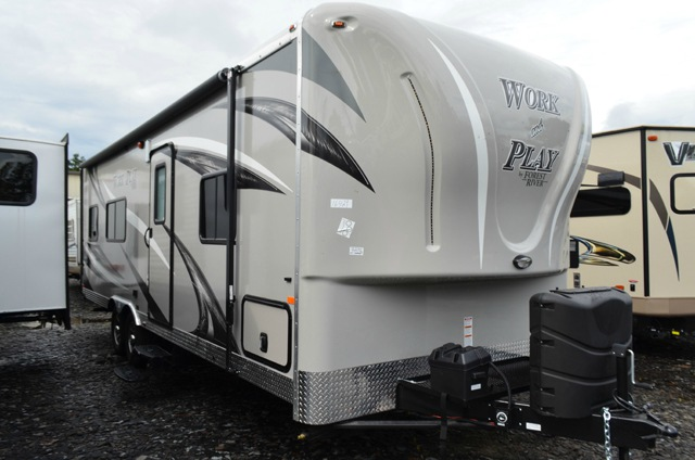New 2016 Forest River Rv Work And Play 25wb Toy Hauler