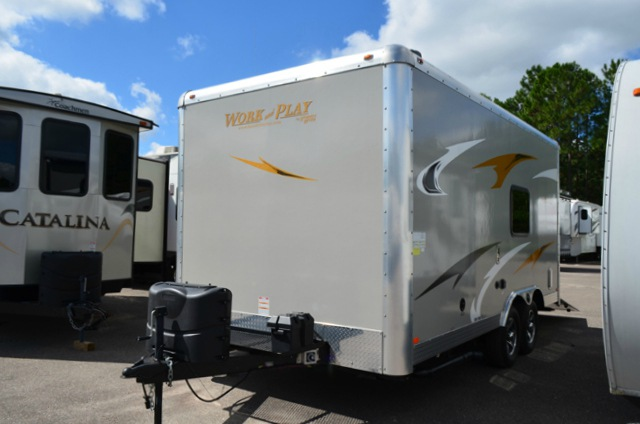Used 2015 Forest River Rv Work And Play Ultra Lite 16ul Le