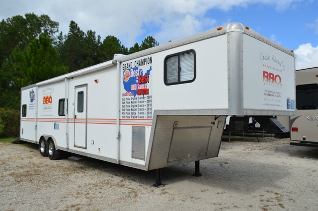 Work And Play Toy Hauler >> Used 2007 Forest River RV Work and Play WPF38RL Toy Hauler Fifth Wheel at Dick Gore's RV World ...