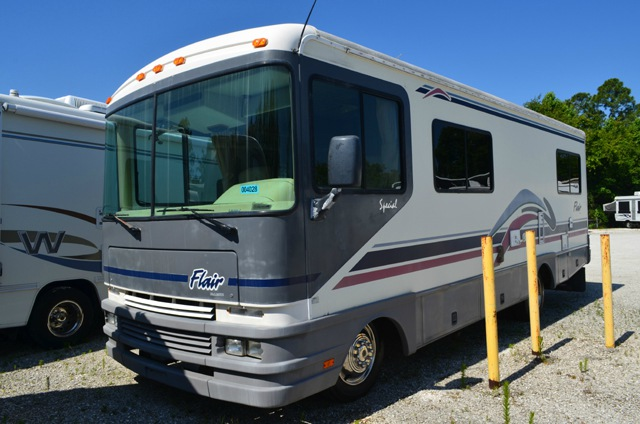used 1997 fleetwood rv flair special 30h motor home class a at dick gore 39 s rv world saint. Black Bedroom Furniture Sets. Home Design Ideas