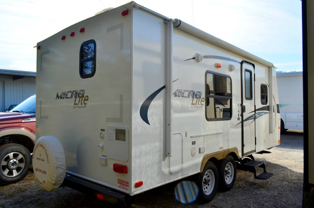 Microlite Travel Trailer >> Used 2012 Forest River Rv Flagstaff Micro Lite 21fb Travel Trailer
