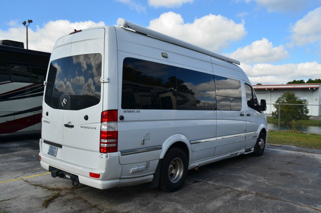 Used 2013 Mercedes Benz Diiesel Airstream Interstate Class B Van Camper For Sale 0081