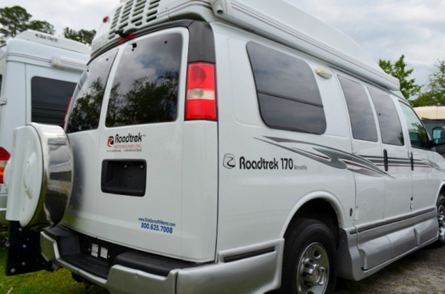 Used 2012 Roadtrek 170 Versatile Motor Home Class B At