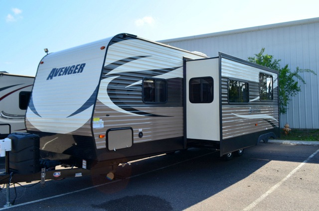 Used 2016 Forest River Rv Avenger 28dbs Travel Trailer At