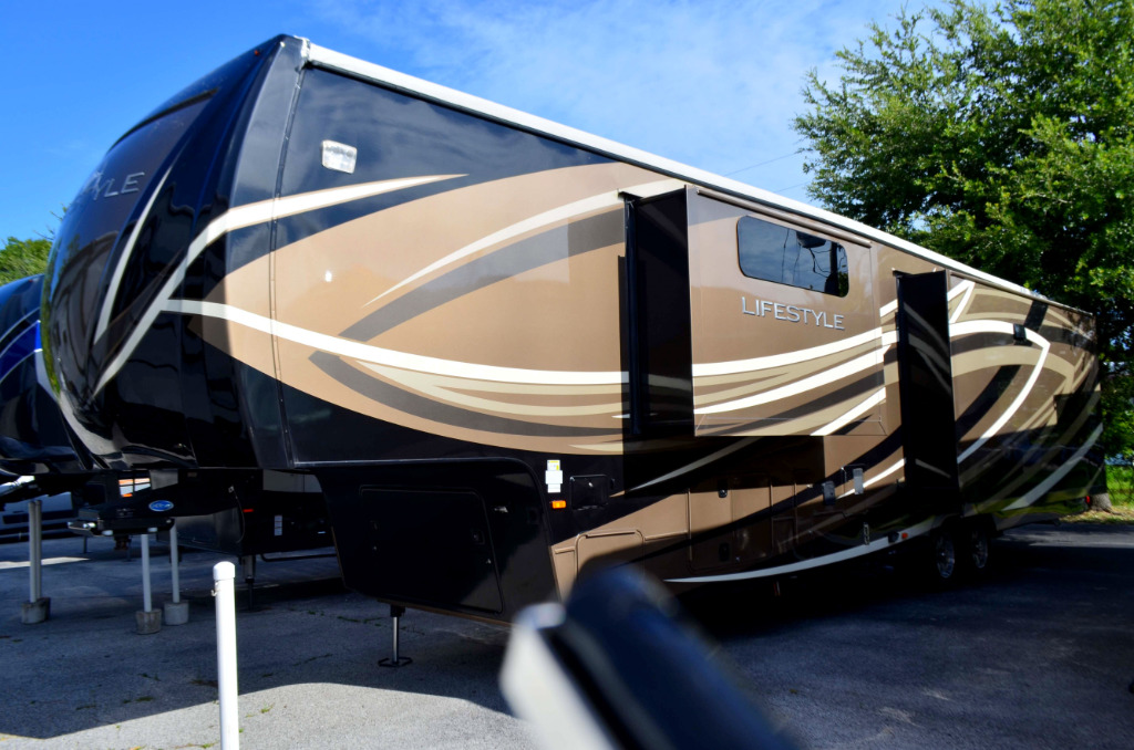 Used Rv For Sale In Ga >> Used 2015 LUXURY RV Lifestyle LS39FB Fifth Wheel at Dick Gore's RV World | Jacksonville, FL | # ...