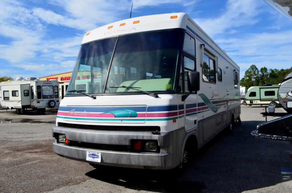 Used 1996 itasca suncruiser 34ra motor home class a at for Motor home class a