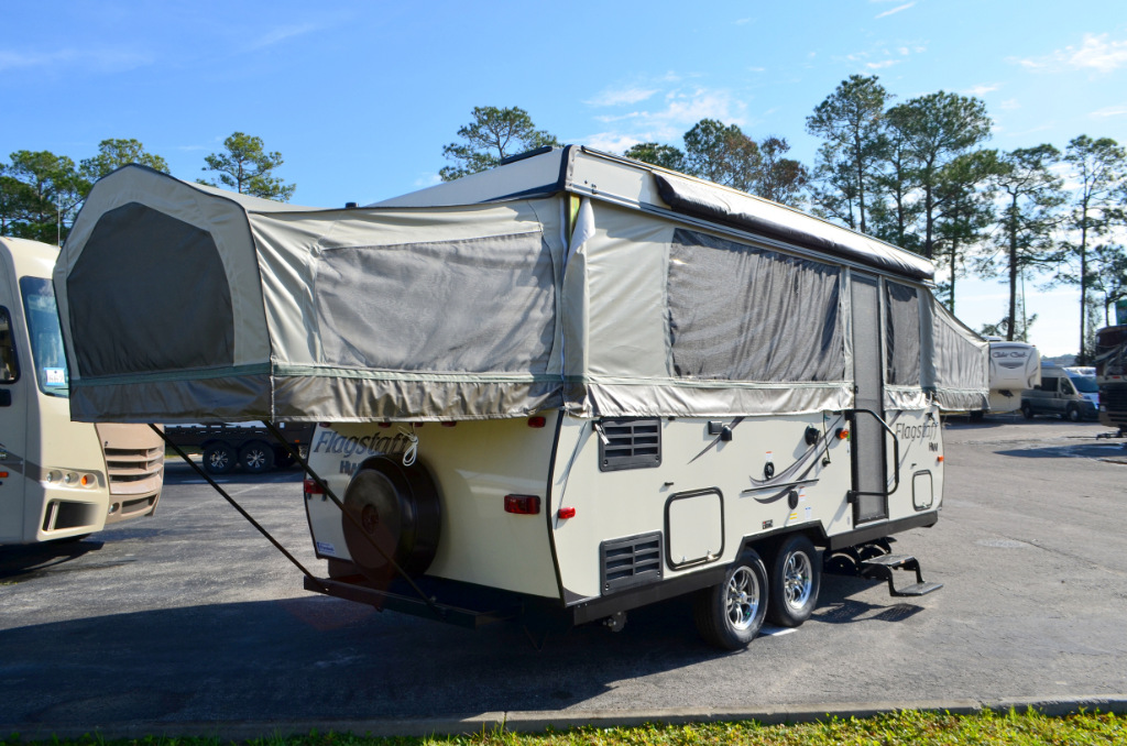 New 2017 Forest River Flagstaff HW HW29SC Pop Up Camping Trailer For Sale 0037