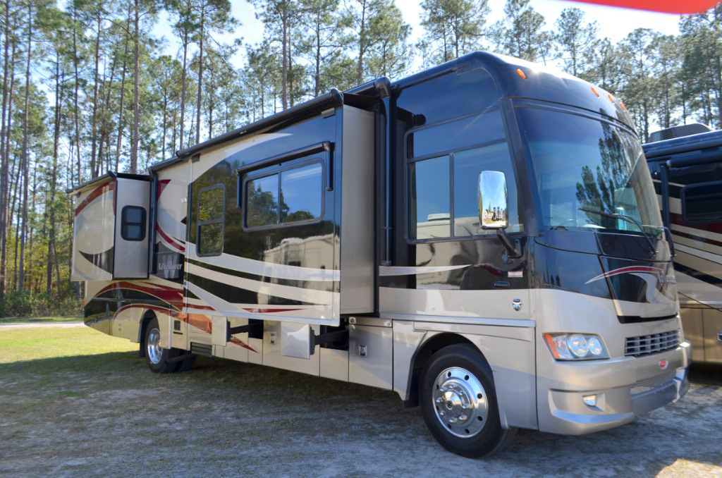 Used 2011 winnebago adventurer 37f motor home class a at for Motor home class a