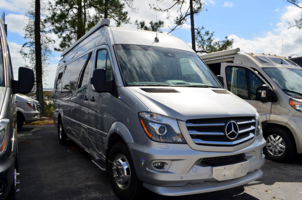 New 2017 airstream rv tommy bahama interstate lounge motor for Mercedes benz airstream
