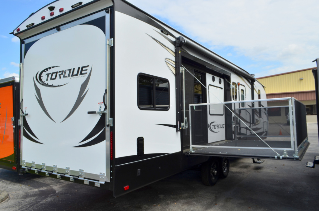 new 2017 heartland torque t32 toy hauler travel trailer at dick