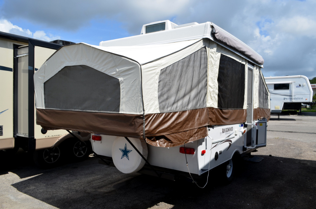 Used Rv For Sale In Ga >> Used 2015 Forest River RV Rockwood Freedom Series 1910 Folding Pop-Up Camper at Dick Gore's RV ...