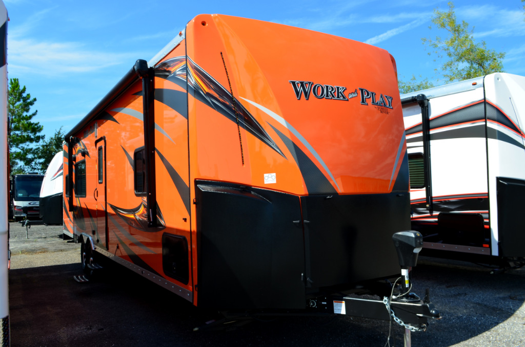 New 2018 Forest River Rv Work And Play Frp Series 30wcr
