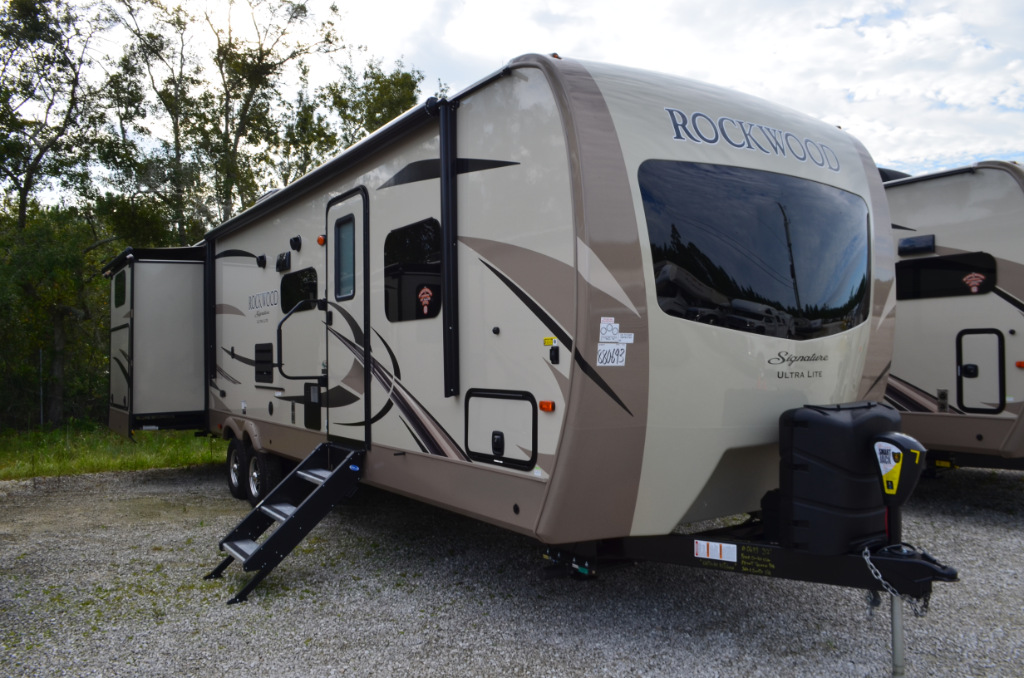 Rockwood Signature Ultra Lite >> New 2018 Forest River RV Rockwood Signature Ultra Lite 8326BHS Travel Trailer at Dick Gore's RV ...
