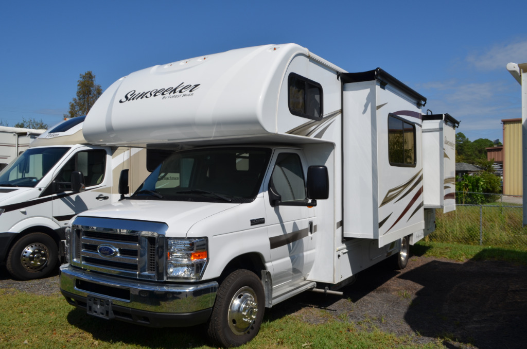Used 2016 Forest River Rv Sunseeker 2500ts Ford Motor Home