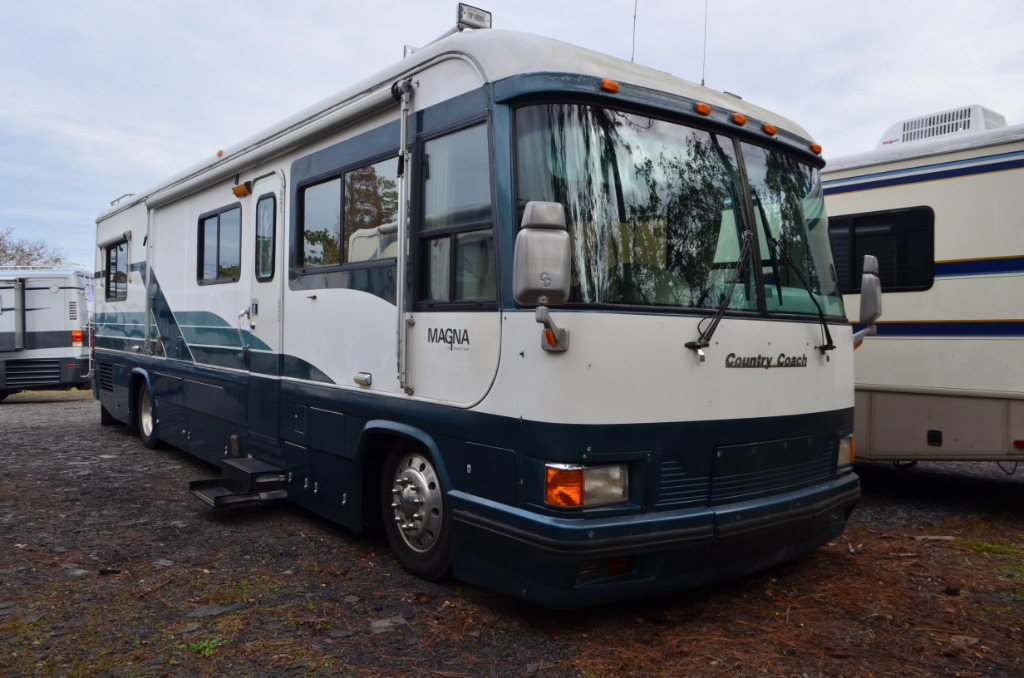 Used 1992 Country Coach Magna 36 Motor Home Class A Diesel At Dick Wiring Diagram 38rb Pusher Rv For Sale