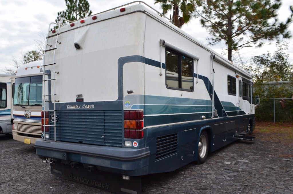Used 1992 country coach magna 36 motor home class a for Motor home class a