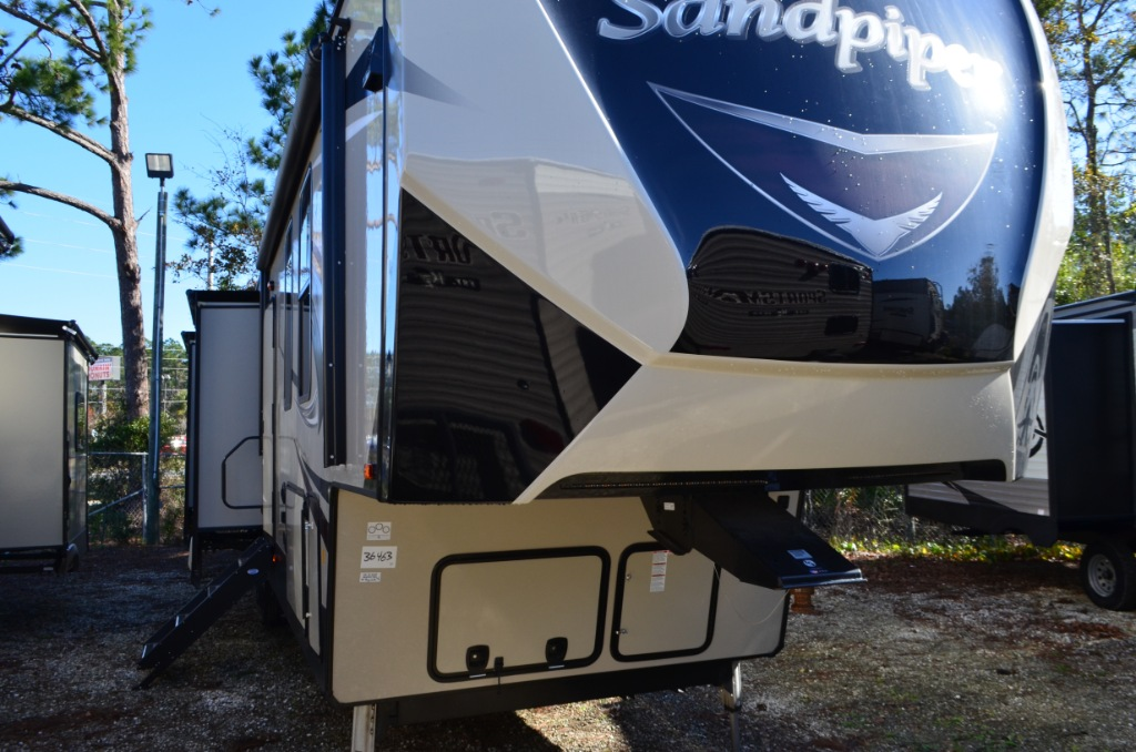 New 2018 Forest River Rv Sandpiper 381rbok Fifth Wheel At