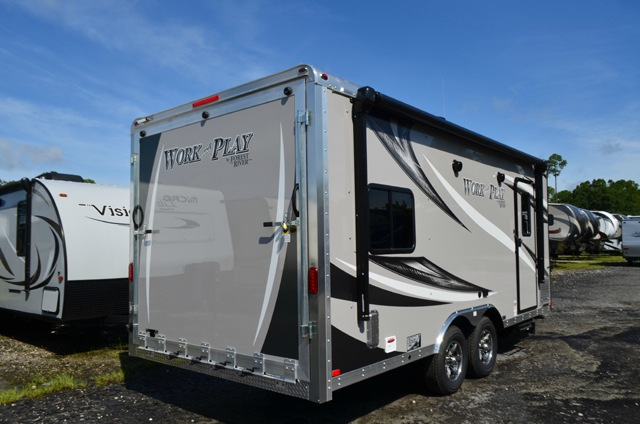 New 2016 Forest River Rv Work And Play 21vfb Toy Hauler